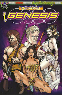 Cover Thumbnail for Edgar Rice Burroughs' Genesis (American Mythology Productions, 2018 series) #1 (0)