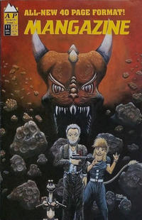 Cover Thumbnail for Mangazine (Antarctic Press, 1989 series) #11