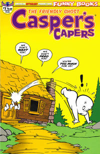 Cover Thumbnail for Casper's Capers (American Mythology Productions, 2018 series) #1 [Retro Cover]