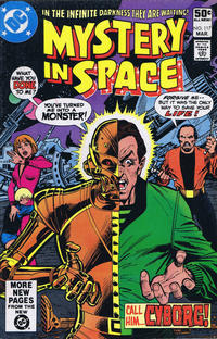Cover Thumbnail for Mystery in Space (DC, 1951 series) #117 [Direct]