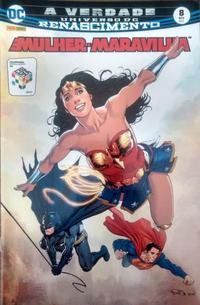 Cover Thumbnail for Mulher-Maravilha (Panini Brasil, 2017 series) #8 [Capa Variante]