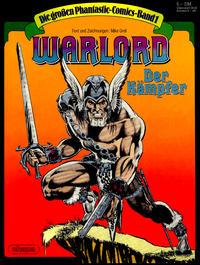 Cover Thumbnail for Die großen Phantastic-Comics (Egmont Ehapa, 1980 series) #1 - Warlord - Der Kämpfer [5.00 DM]