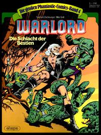 Cover Thumbnail for Die großen Phantastic-Comics (Egmont Ehapa, 1980 series) #4 - Warlord - Die Schlacht der Bestien [5.00 DM]