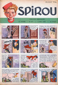 Cover Thumbnail for Spirou (Dupuis, 1947 series) #577