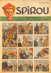 Cover Thumbnail for Spirou (Dupuis, 1947 series) #582