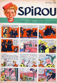 Cover Thumbnail for Spirou (Dupuis, 1947 series) #585