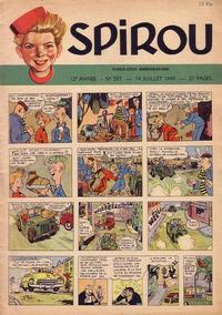 Cover Thumbnail for Spirou (Dupuis, 1947 series) #587
