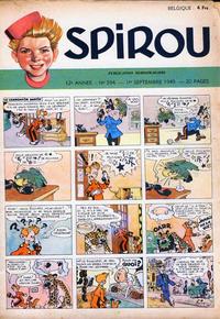 Cover Thumbnail for Spirou (Dupuis, 1947 series) #594