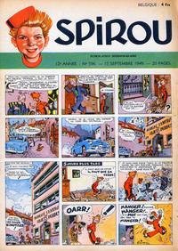 Cover Thumbnail for Spirou (Dupuis, 1947 series) #596
