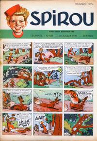 Cover Thumbnail for Spirou (Dupuis, 1947 series) #589