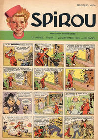 Cover Thumbnail for Spirou (Dupuis, 1947 series) #597