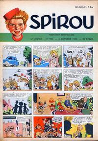 Cover Thumbnail for Spirou (Dupuis, 1947 series) #599