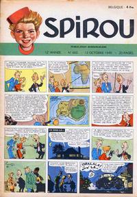 Cover Thumbnail for Spirou (Dupuis, 1947 series) #600