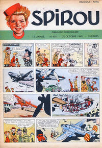 Cover Thumbnail for Spirou (Dupuis, 1947 series) #601