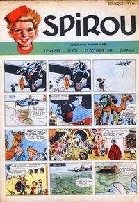 Cover Thumbnail for Spirou (Dupuis, 1947 series) #602