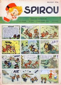 Cover Thumbnail for Spirou (Dupuis, 1947 series) #608