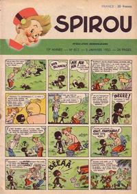 Cover Thumbnail for Spirou (Dupuis, 1947 series) #612