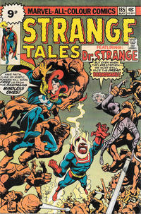 Cover Thumbnail for Strange Tales (Marvel, 1973 series) #185 [British]