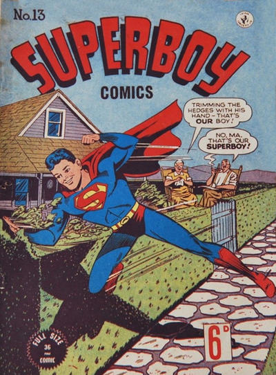 Cover for Superboy (K. G. Murray, 1949 series) #13