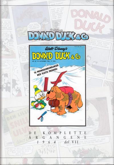 Cover for Donald Duck & Co De komplette årgangene (Hjemmet / Egmont, 1998 series) #[70] - 1964 del 7