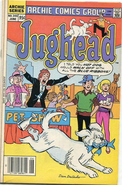 Cover for Jughead (Archie, 1965 series) #346 [Canadian]