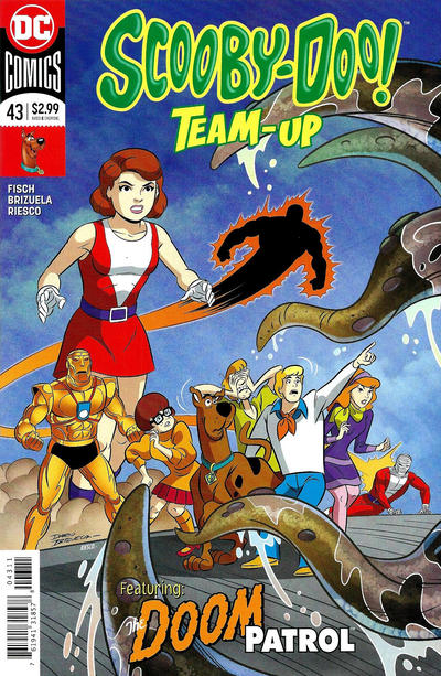 Cover for Scooby-Doo Team-Up (DC, 2014 series) #43