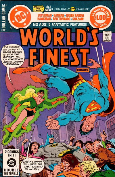 Cover for World's Finest Comics (DC, 1941 series) #266 [Direct]