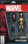 Cover Thumbnail for All-New Wolverine (2016 series) #1 [John Tyler Christopher Action Figure Variant]