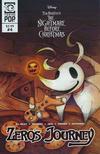 Cover for Disney Tim Burton's the Nightmare before Christmas: Zero's Journey (Tokyopop, 2018 series) #4