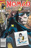 Cover for Nomad (Marvel, 1992 series) #1 [Newsstand]