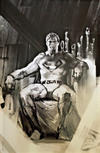 Cover Thumbnail for Action Comics (2011 series) #1000 [Bulletproof Comics Convention Edition Gabriele Dell'Otto Sketch Virgin Cover]