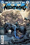 Cover for Nightwing (DC, 2016 series) #22 [Casey Jones Cover]