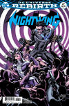 Cover for Nightwing (DC, 2016 series) #27 [Casey Jones & Hi-Fi Cover Variant]