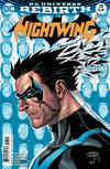 Cover for Nightwing (DC, 2016 series) #28 [Casey Jones & Hi-Fi Cover Variant]