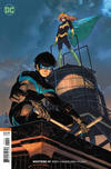 Cover for Nightwing (DC, 2016 series) #49 [John Romita Jr., Danny Miki, and Tomeu Morey]