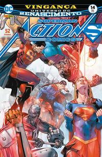 Cover Thumbnail for Action Comics (Panini Brasil, 2017 series) #14