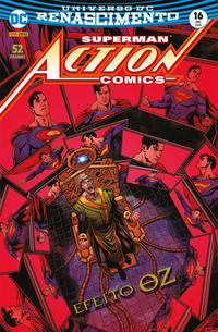 Cover Thumbnail for Action Comics (Panini Brasil, 2017 series) #16