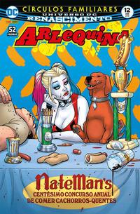 Cover Thumbnail for Arlequina (Panini Brasil, 2017 series) #12