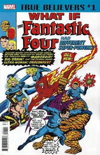 Cover Thumbnail for True Believers: What If The Fantastic Four Had Different Super-Powers? (Marvel, 2018 series)