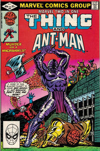 Cover for Marvel Two-in-One (Marvel, 1974 series) #87 [Direct]