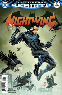 Cover Thumbnail for Nightwing (DC, 2016 series) #20 [Casey Jones Cover]