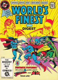 Cover Thumbnail for DC Special Series (DC, 1977 series) #23 - World's Finest Comics Digest [Direct]