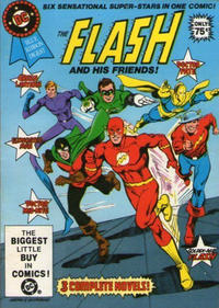 Cover Thumbnail for DC Special Series (DC, 1977 series) #24 - The Flash and His Friends! [Direct]