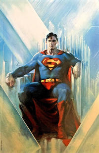 Cover Thumbnail for Action Comics (DC, 2011 series) #1000 [Bulletproof Comics Exclusive Gabriele Dell'Otto Color Virgin Cover]