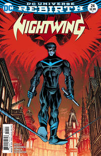 Cover Thumbnail for Nightwing (DC, 2016 series) #24 [Casey Jones Cover]