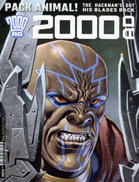 Cover Thumbnail for 2000 AD (Rebellion, 2001 series) #2105