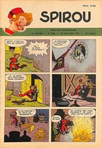 Cover Thumbnail for Spirou (Dupuis, 1947 series) #666
