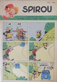 Cover Thumbnail for Spirou (Dupuis, 1947 series) #650