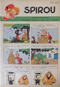 Cover Thumbnail for Spirou (Dupuis, 1947 series) #642