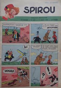 Cover for Spirou (Dupuis, 1947 series) #644